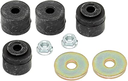 Nut ACDelco 46G0338A Advantage Rear Suspension Stabilizer Bar Link Bushing Kit with Washers and Bolt