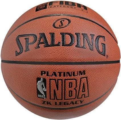 Spalding NBA Platinum Legacy - Balón de Baloncesto con Logo DBB ...