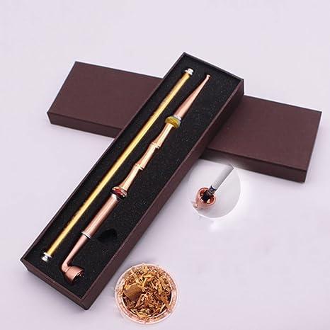 Amazon.com: Cobre pipa de tabaco, pipa de fumar doble uso ...