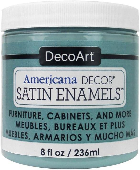 DecoArt Décor Americana Decor Satin Enamels 8oz Sea Blue