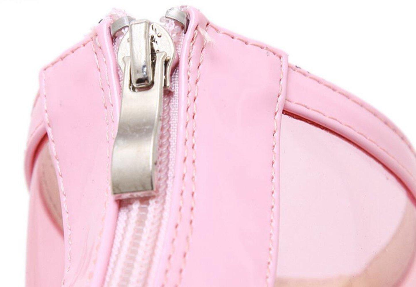 LINYI Offene Offene Offene Spitze Frauen Neue Mode Transparent High-Heel Stiefeletten Wild Tidechunky Ferse Künstliche PUCool Stiefel 1f81a8
