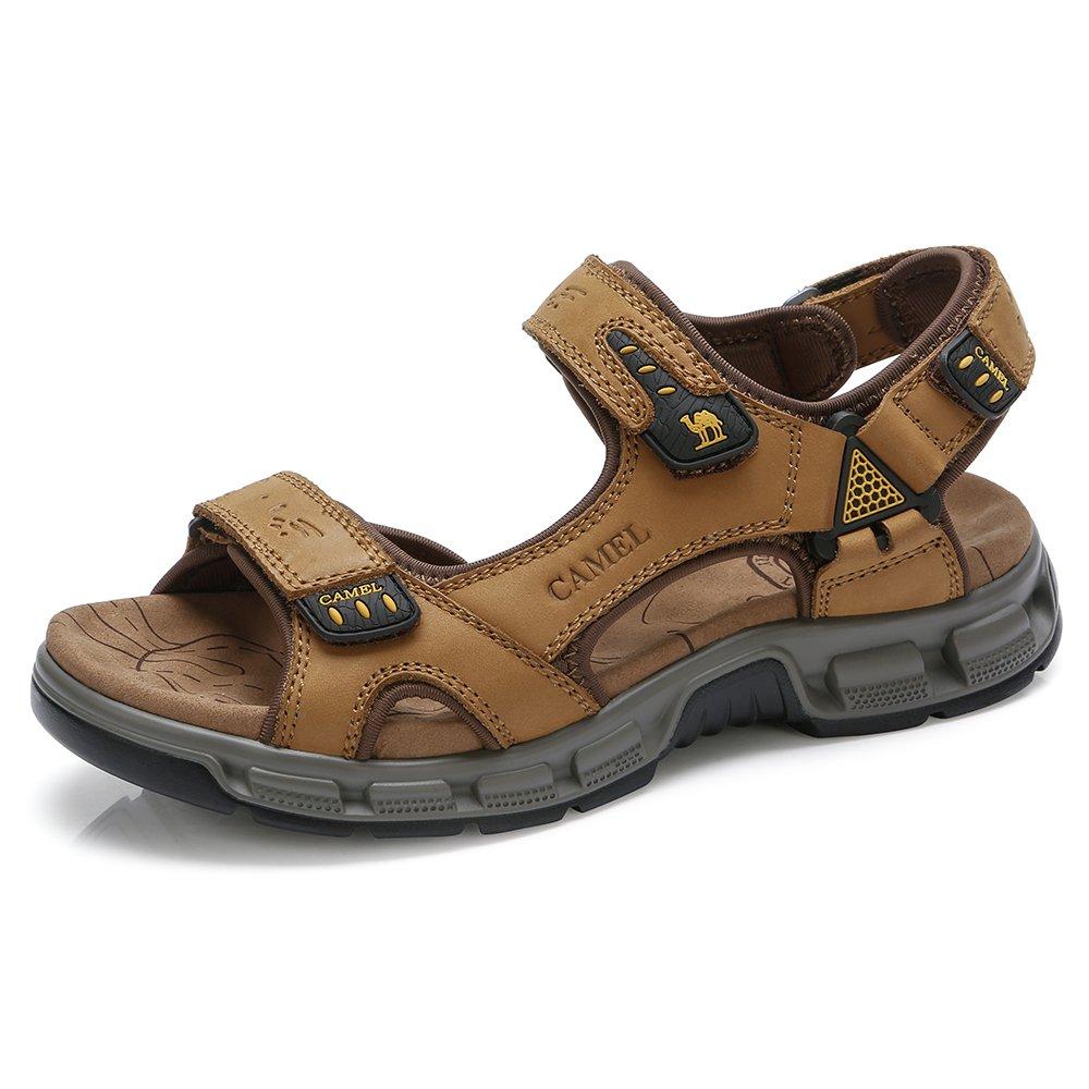 340e8d1bd ویکالا · خرید اصل اورجینال · خرید از آمازون · CAMEL CROWN Leather Sandals  for Men