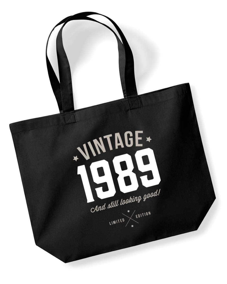 30th Birthday Funny Vintage 1989 Tote Bag