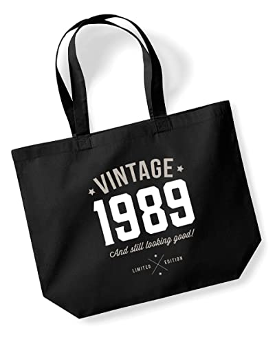 30th Birthday 1989 Keepsake Funny Gift Gifts For Women Novelty Ladies Female Looking Good Shopping Bag