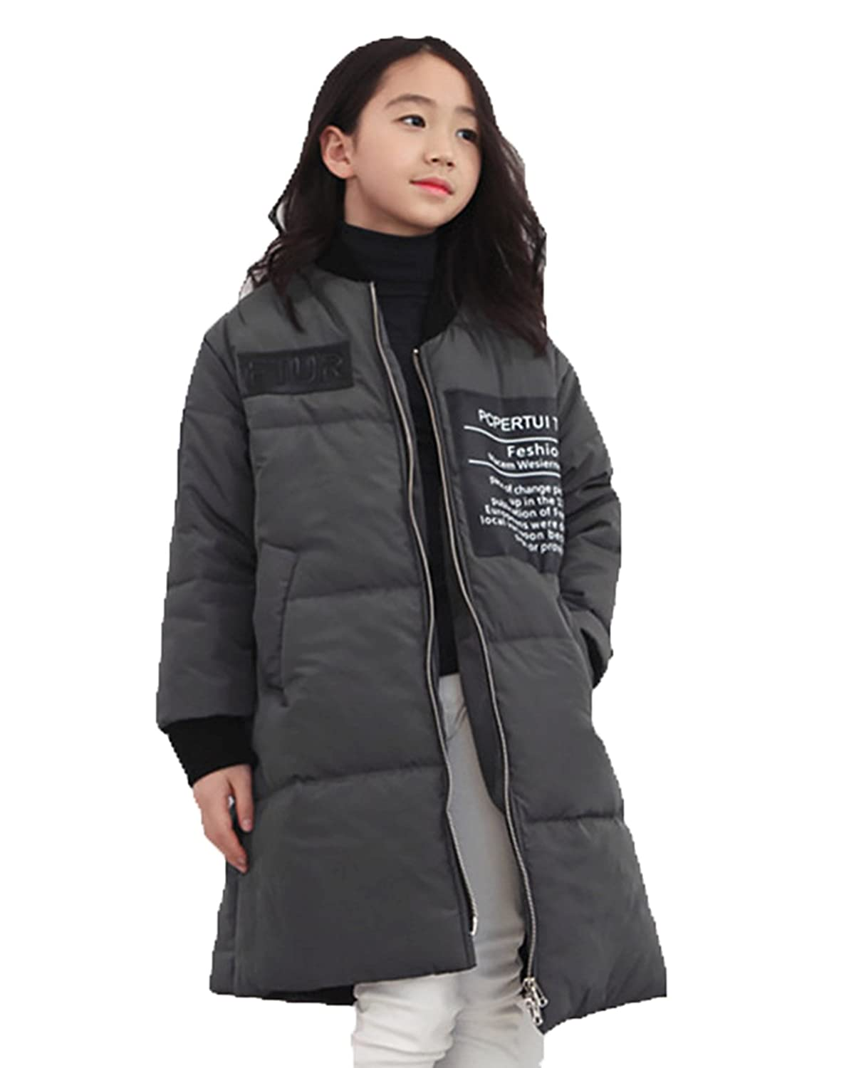 70f934d90 Amazon.com  Lemonkids Junior Girls Chic Warm Anorak Winter Outfit ...