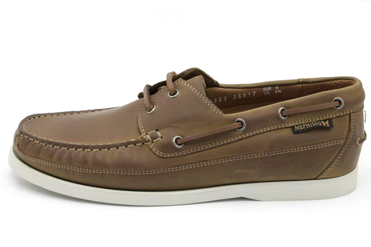 f525a4176d0 Mephisto Mens Boating Mens Boat Shoe in Desert Grizzly 597 11 UK DESERT:  Amazon.co.uk: Shoes & Bags