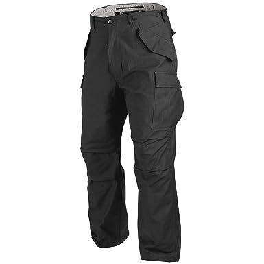 e8dee4290f5b3f Helikon M65 Combat Trousers Black at Amazon Men's Clothing store: