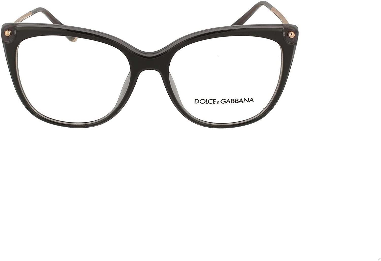 Dolce /& Gabbana Eyeglasses D/&G DG3294 DG//3294 501 Black Optical Frame 54mm