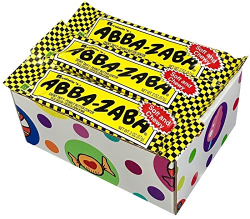 Abba Zaba Mini - Abba Zaba Candy Bars (Pack of 12) By CandyLab