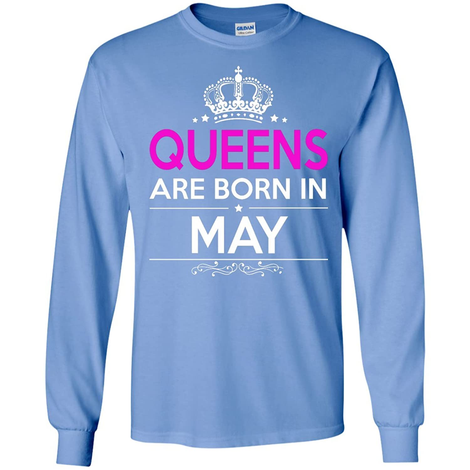 Queen are born in may Long Sleeve