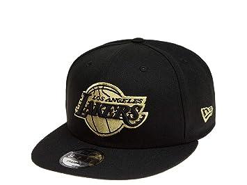 7800e4090471a A NEW ERA Era Snapback Cap Der Los Angeles Lakers - Gorra de Baloncesto de  la NBA en Color Negro
