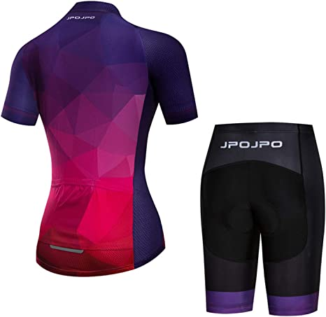 Details about  /Women Cycling Set Summer Breathable Lycra Bike Bicycle Sport Bib Short Clothing