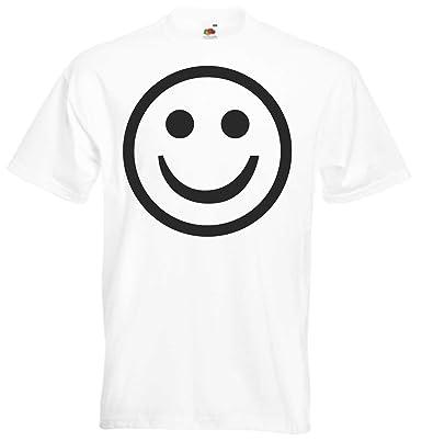 JINTORA Camiseta T-Shirt - Sonrisa - Cara Feliz - JDM/Die Cut ...