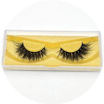 7d5eff5d79e Amazon.com : Peony red Eyelashes 3D Mink Lashes High Volume Handmade Mink  False Eyelashes Thick Full Strip Lashes Cruelty Free cilios posticos, ...