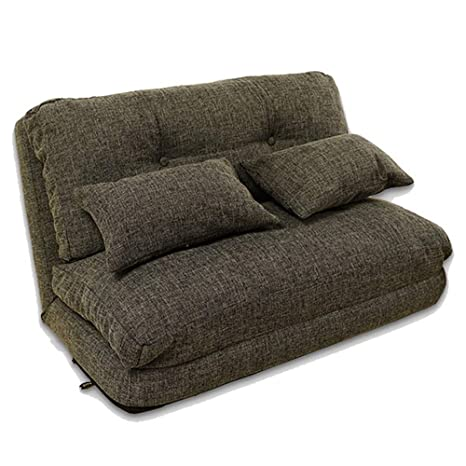 Amazon.com: Teerwere Easy Padded Floor Chair Lounge Sofa Bed ...