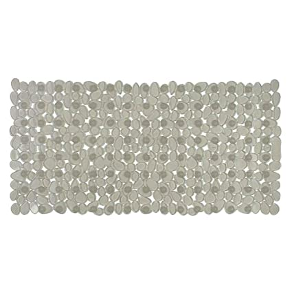 Freelance PVC Shower Mat - 27x15, Transparent
