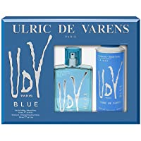 Ulric De Varens Edt, Blue, 100ml with Ulric De Varens Deo, 200ml
