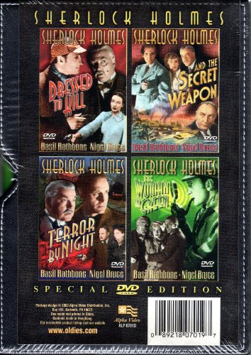 Sherlock Holmes Special DVD Video Edition: Sherlock Holmes Dressed to Kill / Sherlock Holmes and the Secret Weapon / Terror By Night / The Woman in Green