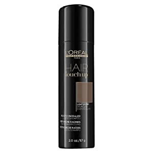 L'OREAL Hair Touch Up Root Concealer (Light Brown) 2.0 oz