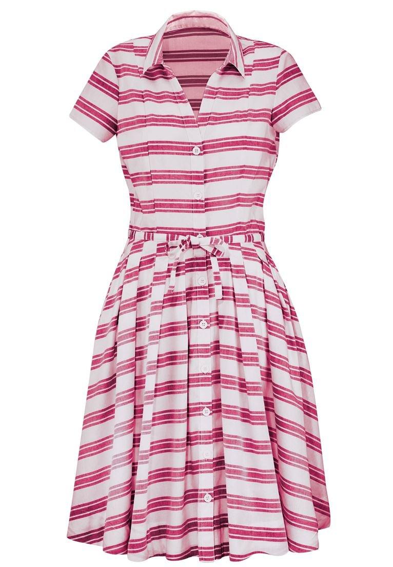 Fresh Ellos Women's Plus Size Belted Shirtwaist Dress at Amazon Women's  FL55