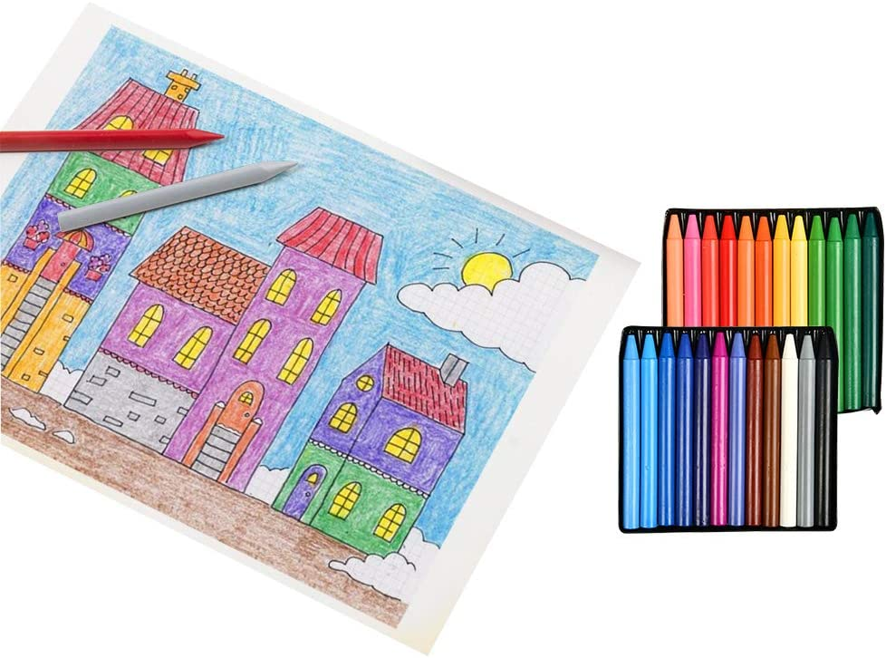 Attivita Creative Wowoss 12 Borsette Da Colorare Per Bambini Con 24 Pastelli Colorati Sacchetto Da Colorare Regalo Di Compleanno Per Scuola Scuola Materna E Celebrazione Giochi E Giocattoli Cumbresbox Cl
