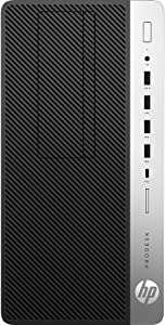 HP ProDesk 600 G4, 4HY04UT, Core i7 8700 3.2 GHz - 8 GB - 1 TB Hard Drive - Win 10 Pro