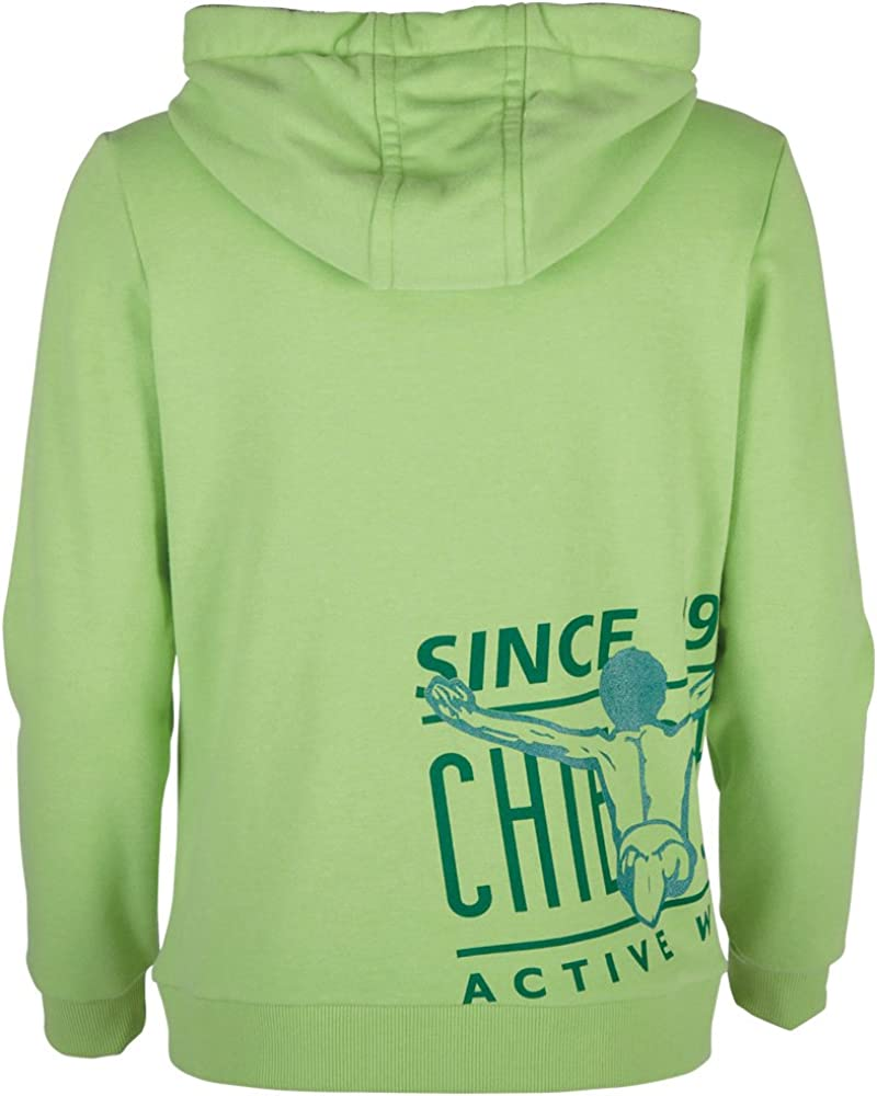 Chiemsee Damen Sweat Jacke Odetta Summer Green