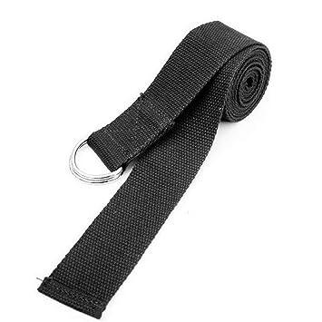 Fliyeong - Cinturón de Yoga Ajustable con Hebilla en Forma ...