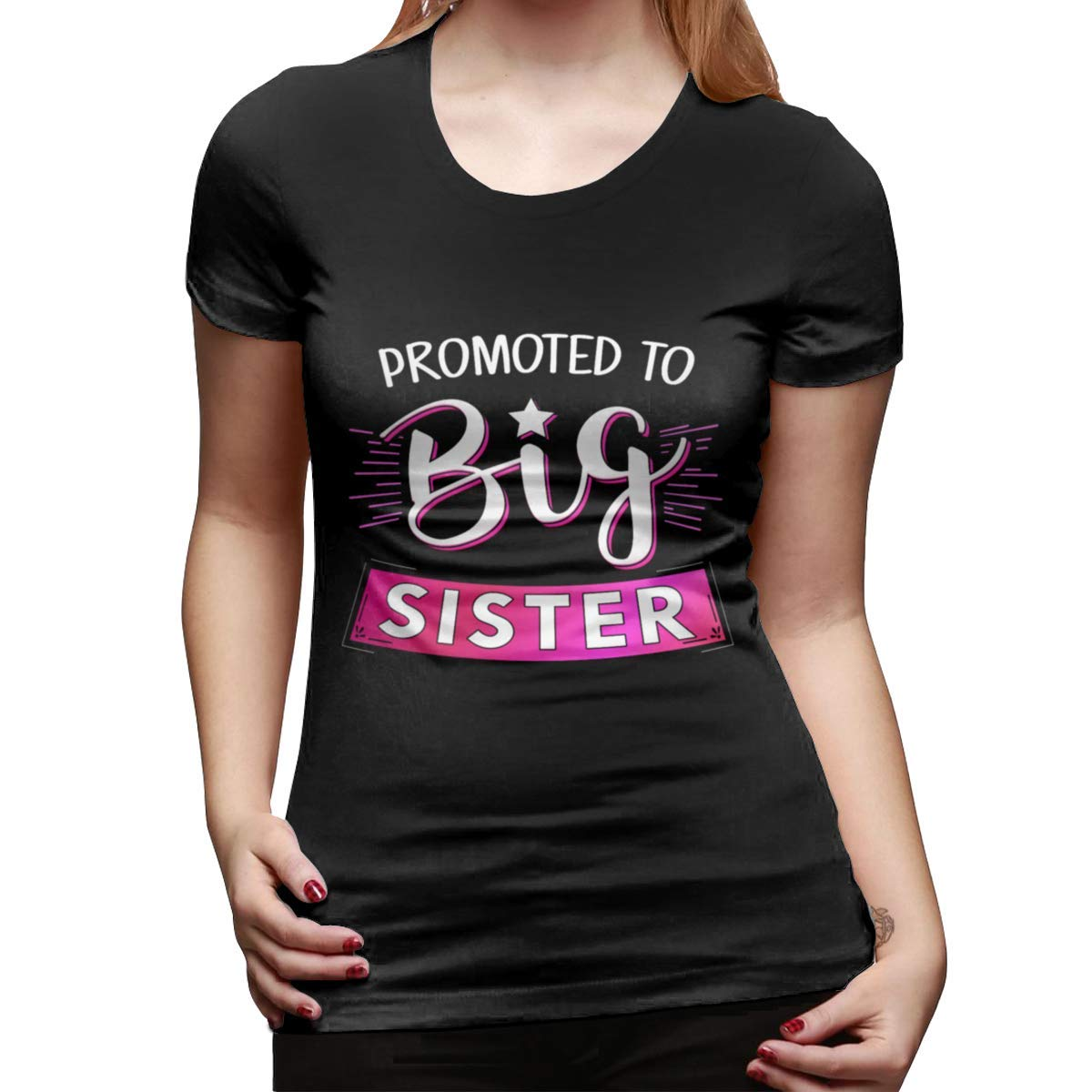 Promoted To Big Sister Tee Short-sleeve Shirts