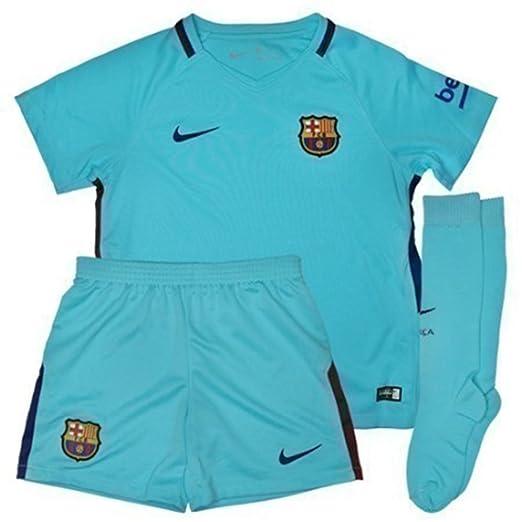 Amazon.com  Nike FC Barcelona Stadium Away Little Kids  Soccer Mini ... df28a68f0