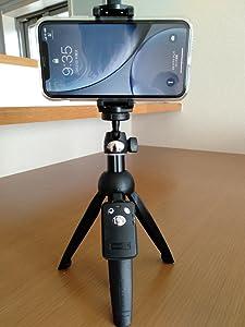 XR用。自撮り棒でFacebookLIVEのため購入