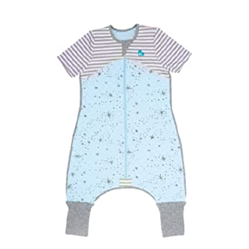 Love To Dream Sleep Suit Ideal for Active Babies Blue Premium All-in-one Quilted Wearable Blanket That can/'t be Kicked Off Legs with 2-in-1 feet Perfect for Sleep /& Play 6-12 Months 1.0 TOG