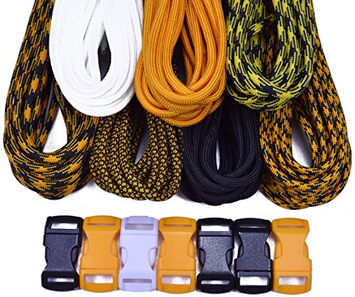 Bored Paracord Brand Paracord Starter Kit - Steel Curtain Combo Kit by BoredParacord