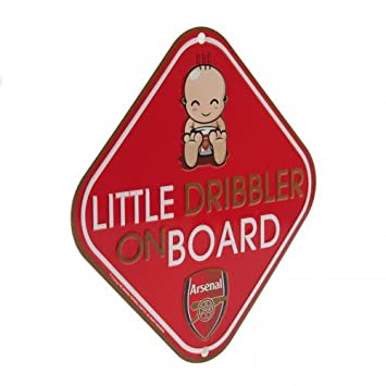 Liverpool FC Official Football Gift Baby On Board Car Accessory Birthday Gift Idea For Men And Boys A Great Christmas