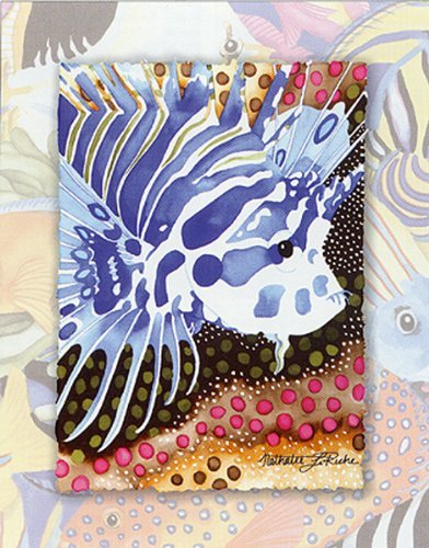 Buyartforless Tropic Fish I by Nathalie LeRiche 7 X 5 Art Print Poster