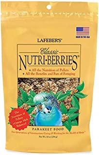 product image for Classic Nutri-Berries For Parakeets 12.5 Oz Tub