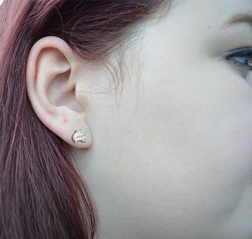 Large Stud See Image on Model for Size Reference Western Carolina Catamounts Earring
