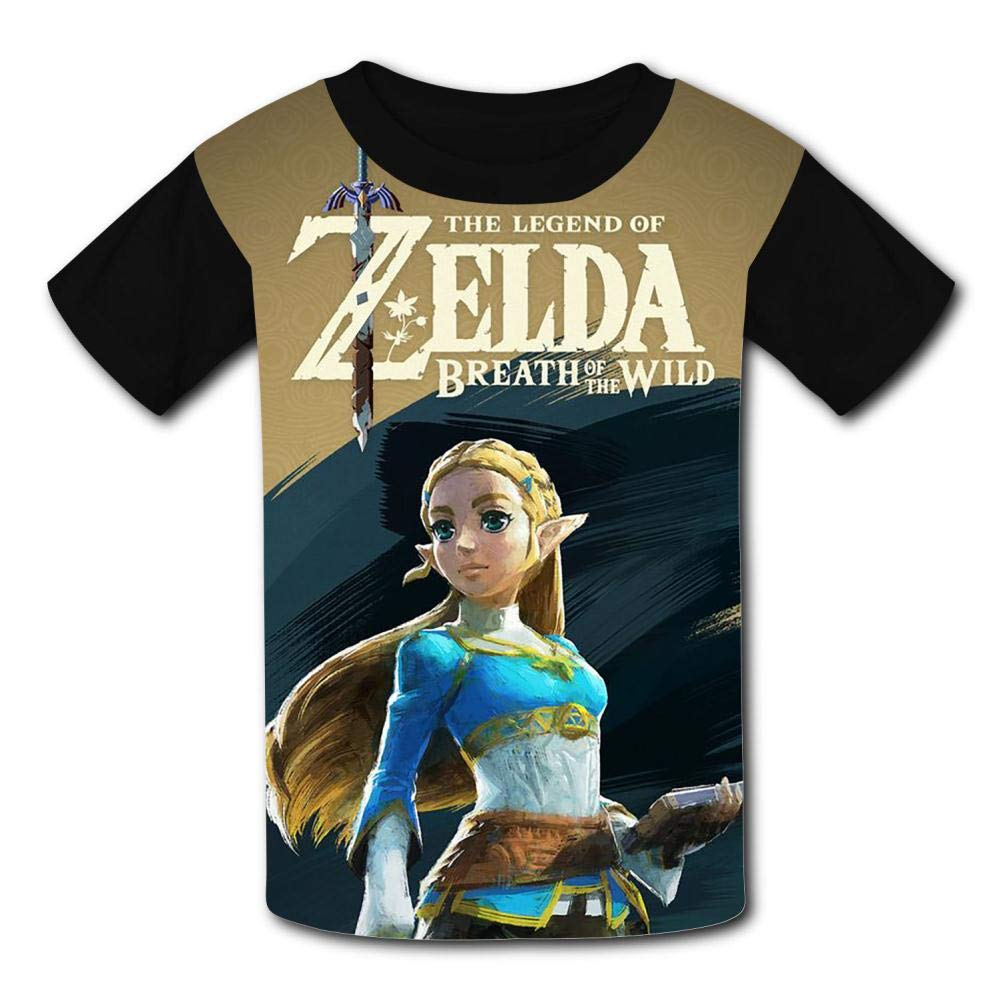 {Size/_Name} UANKO Zelda Childrens Summer Short Sleeve Printing T-Shirts