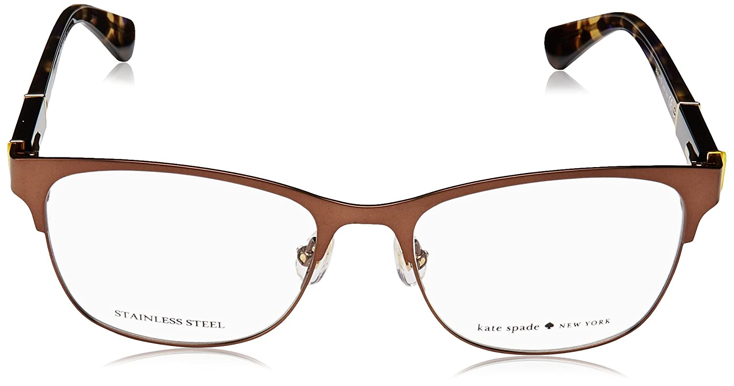 7821d20f45 Eyeglasses Kate Spade Benedetta 04IN Matte Brown at Amazon Men s Clothing  store