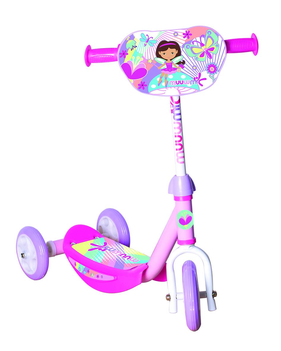 MUUWMI - Patinete para niña, Color Rosa, Talla única: Amazon ...