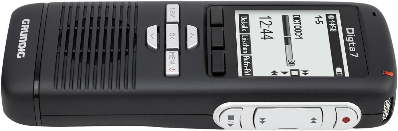 Grundig Pdm7010 12 Digitales Diktiergerät Digta 701 Push Elektronik