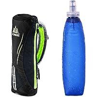 AONIJIE hombre y mujer deportes al aire libre Marathon mano bolsa mochila de hidratación senderismo Running mano Hold bolsa + 1pcs suave de 500ml