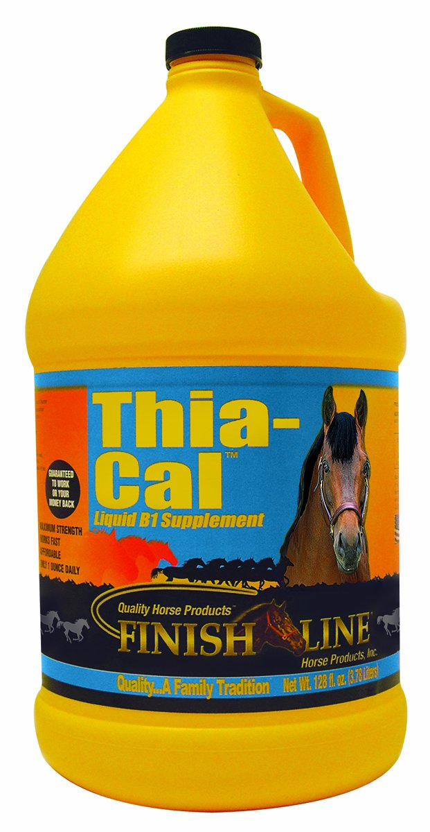 Gallon Finish Line Horse Products Thia Cal
