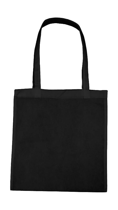 Fieltro bolsa negro PP plástico Bolsa Bolsa 2 Asa Larga 10 ...