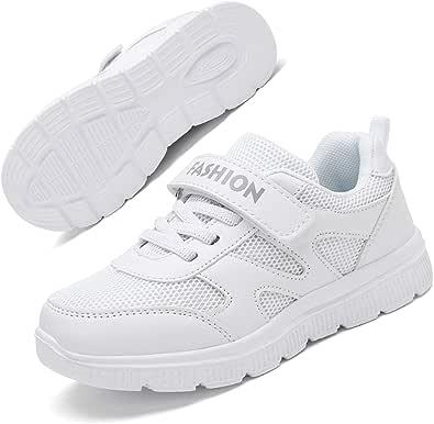 Zapatillas Deportivas para Niños Ligeras Zapatillas de Correr Niñas Calzado de Deporte Zapatillas de Running Sneakers 25-37EU