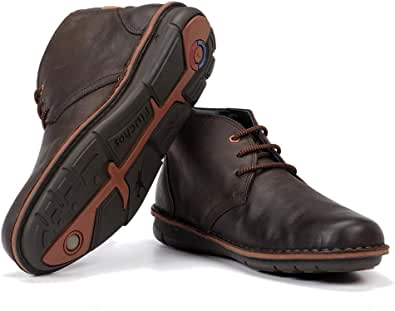 Zapatos fluchos f0701 Caballero Marron