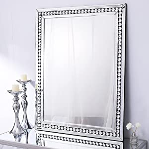 Autdot Wall Mirror Decorative for Living Room, 36