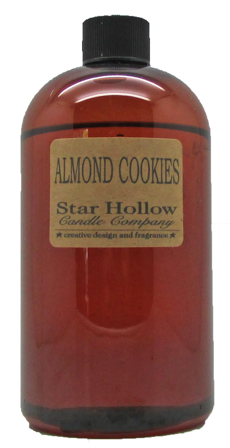 Star Hollow Candle Co Almond Cookies Fragrance Oil, 16 oz, Brown by Star Hollow Candle Co
