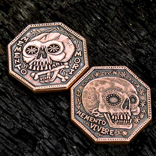 Memento Mori Copper Reminder Coin ()