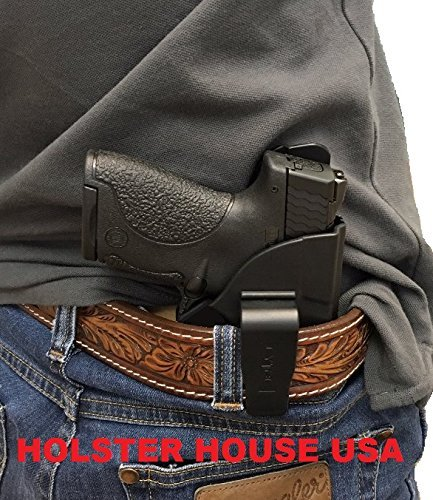 Inside Waistband Conceal Carry Gun Holster, Fits Glock 19, 23, 32 (Gen 1,2,3,+4)Law enforcement grade